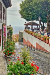 Улочка в городке Icod de los Vinos