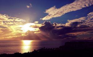 Закат на южном побережье Тенерифе