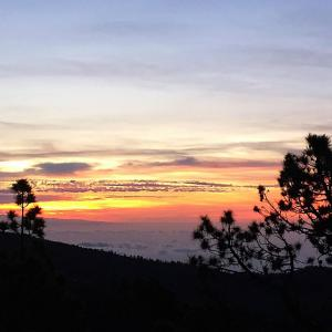 Закат с южного склона