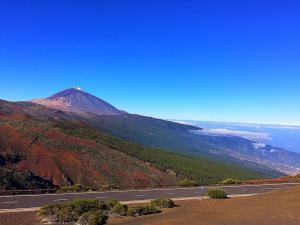 Вид на вулкан Тейде с северного маршрута