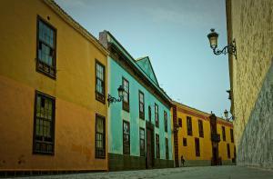 Старинная улочка города La Laguna
